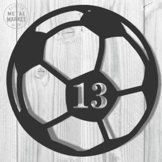Sports Soccer Metal Decor Keister Metal Market