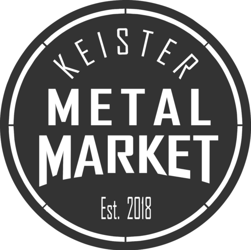 Keister Metal Market Metal Decor | Personalized Wall Art | Metal Wall Art