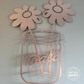 CNC Metal Wall Decor Farmhouse Decor Keister Metal Market Merriam KS