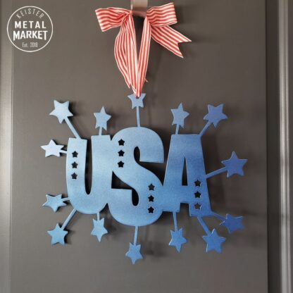 4th of July Metal Wall Decor Signs CNC Plasma Cutting Keister Metal Market