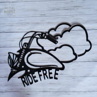 CNC Metal Cut Motorcycle Wind Therapy Metal Wall Decor Keister Metal Market Merriam KS