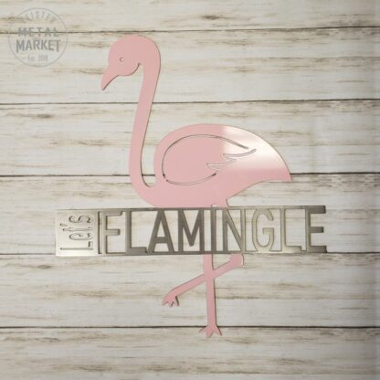 Flamingo Metal Wall Decor CNC Plasma Cutter Keister Metal Market