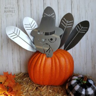 Pumpkin Turkey Spikes Thanksgiving Metal Decor Keister Metal Market Merriam KS