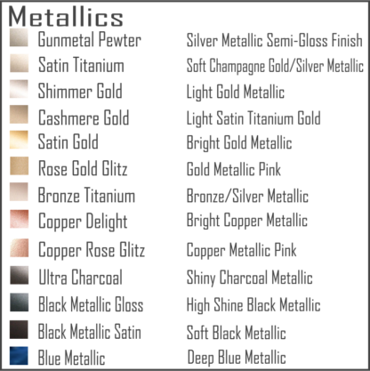 Metal Art Powder Coat Colors Keister Metal Market