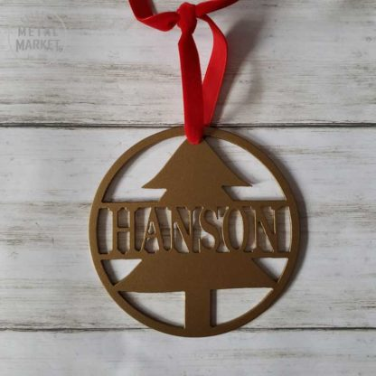 Personalized Christmas Holiday Winter Metal Decor Keister Metal Market