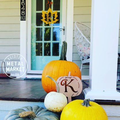 Metal Decor Front Porch Fall Decor Keister Metal Market